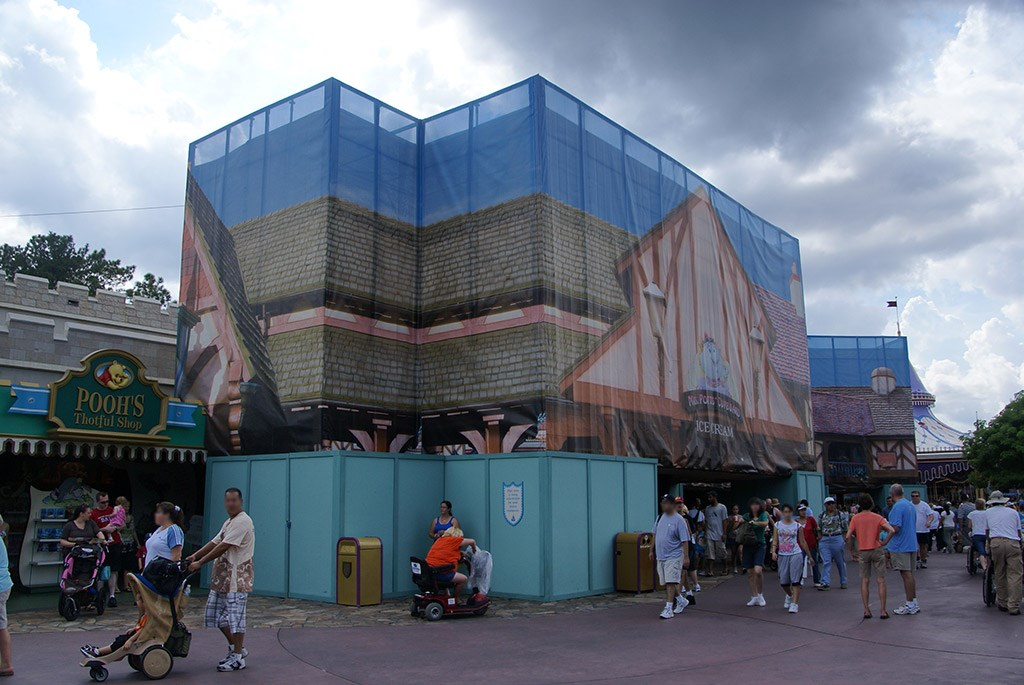 Mrs. Potts' Cupboard exterior refurbishment