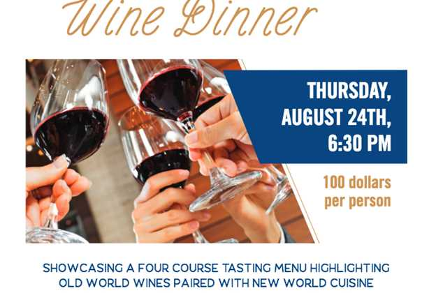 Paddlefish Rooftop Wine Dinner