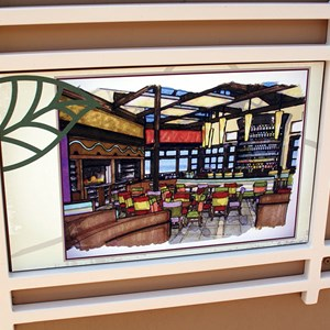 1 of 5: Paradiso 37 - South American Restaurant construction underway at Downtown Disney