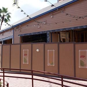 4 of 5: Paradiso 37 - South American Restaurant construction underway at Downtown Disney