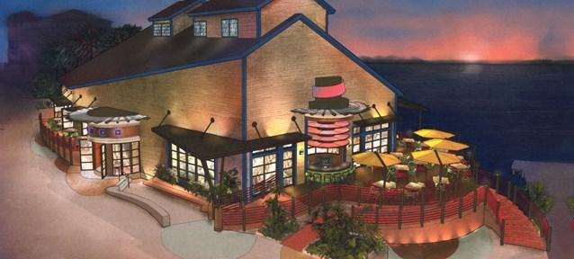 Paradiso 37 - Paradiso 37 concept art. Copyright 2009 The Walt Disney Company.