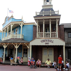 2 of 2: Pecos Bill Cafe - Exterior refurbishment