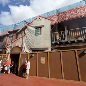1 of 2: Pecos Bill Cafe - Exterior refurbishment