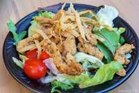 Southwest Salad with Chicken or Spicy Beef