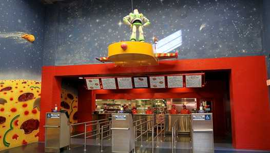 More information on the upcoming Pizza Planet refurbishment at Disney's Hollywood Studios