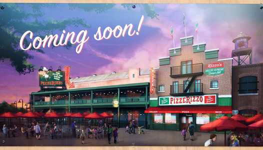 PizzeRizzo gets an opening date at Disney's Hollywood Studios