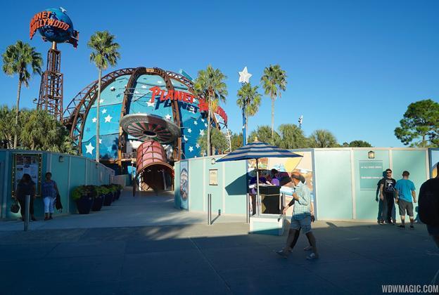 Planet Hollywood gift shop demolished