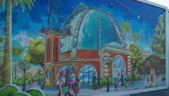 Guy Fieri joins forces with the new Planet Hollywood Observatory at Disney Springs