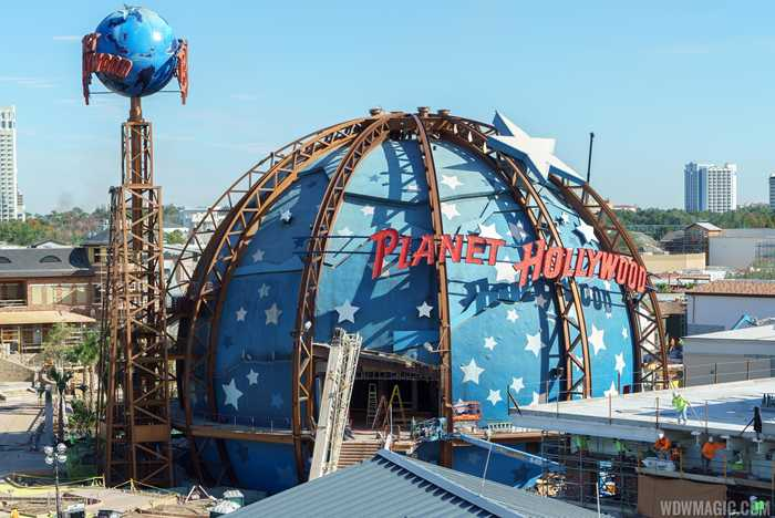 Planet Hollywood refurbishment
