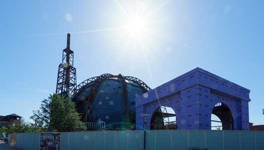 PHOTOS - Planet Hollywood Observatory construction at Disney Springs