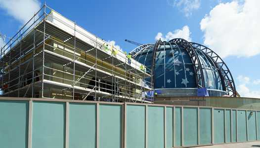 PHOTOS - Planet Hollywood Observatory construction update