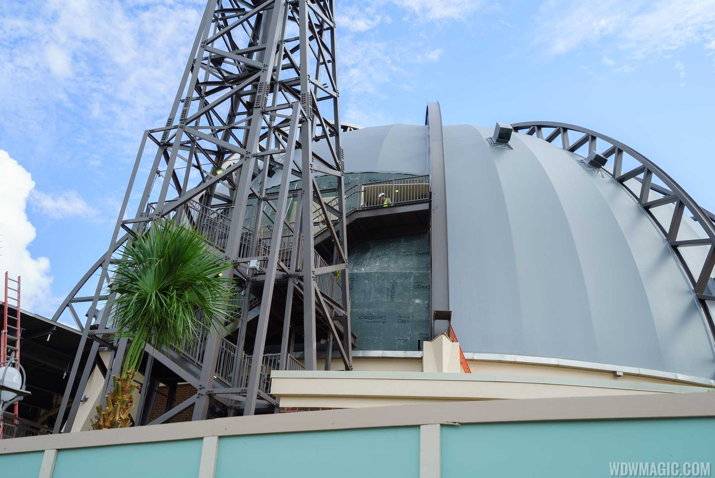 Stargazers Bar construction at Planet Hollywood Observatory