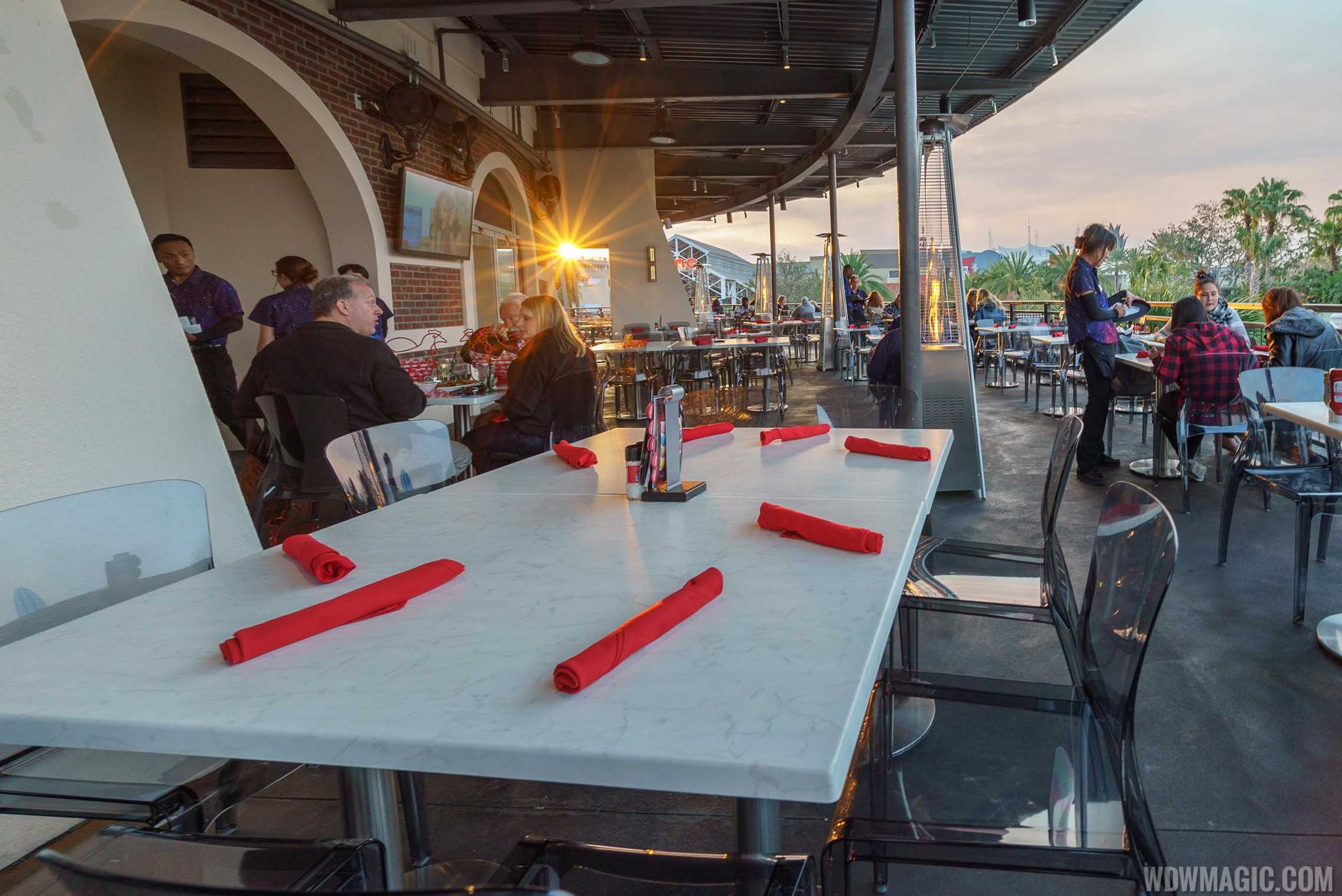 Planet Hollywood Observatory - Outdoor terrace