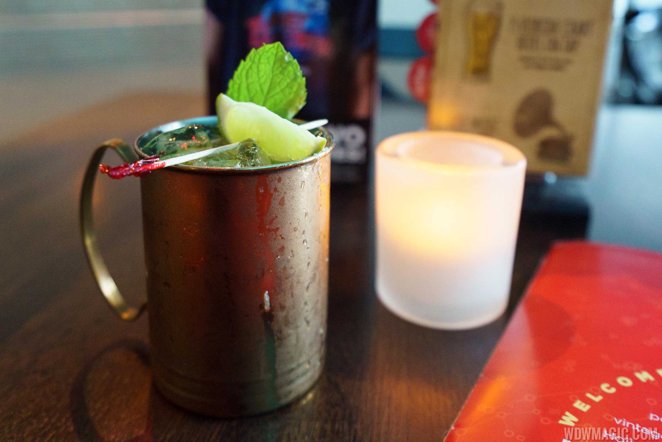 Mercury Mule - $12 New Amsterdam Vodka, Limoncino Bottega and Real ginger infused syrup