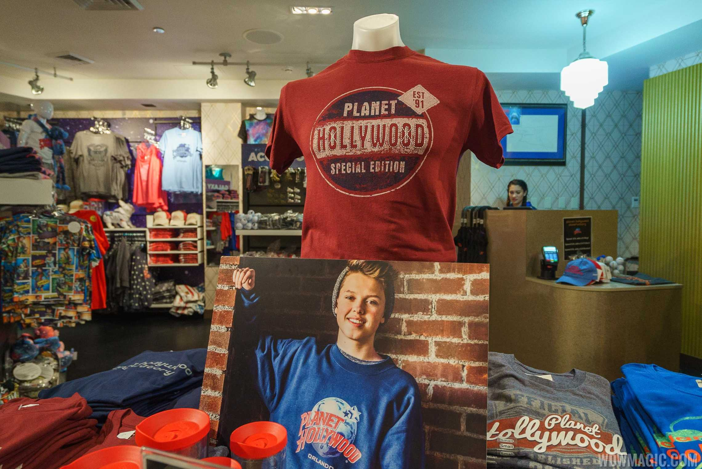 Planet Hollywood Gift shop