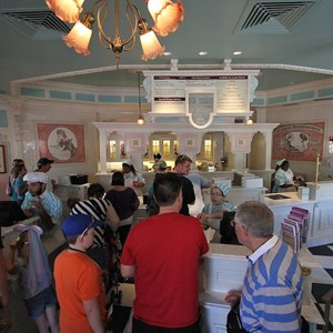 1 of 1: Plaza Ice Cream Parlor - Completed interior refurbishment