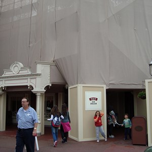 1 of 2: Plaza Ice Cream Parlor - Exterior refurbishment