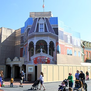 1 of 1: Plaza Ice Cream Parlor - Exterior refurbishment