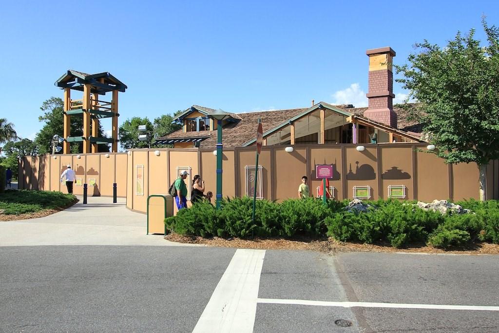 Former McDonalds demolition