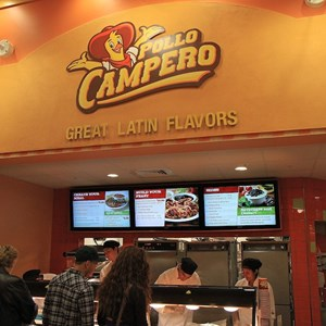 2 of 12: Pollo Campero - Counter service order and pickup area