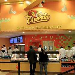 Inside Pollo Campero