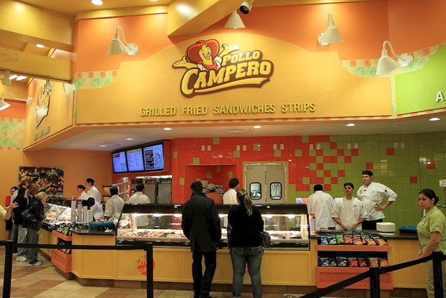 Pollo Campero - Service counters