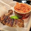 Pollo Campero - The quarter chicken and rice $6.99