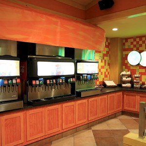 9 of 12: Pollo Campero - Self service beverage machines