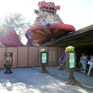1 of 5: Rainforest Cafe Downtown Disney - Refurbishment