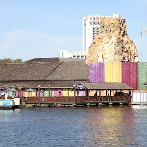 1 of 4: Rainforest Cafe - New exterior concept art and construction