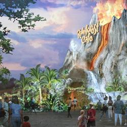 New exterior concept art and construction