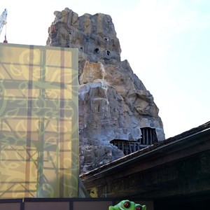 3 of 4: Rainforest Cafe - New exterior concept art and construction