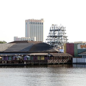 1 of 2: Rainforest Cafe Downtown Disney - Rainforest Cafe refurbishment construction
