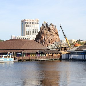 1 of 5: Rainforest Cafe Downtown Disney - Rainforest Cafe refurbishment construction