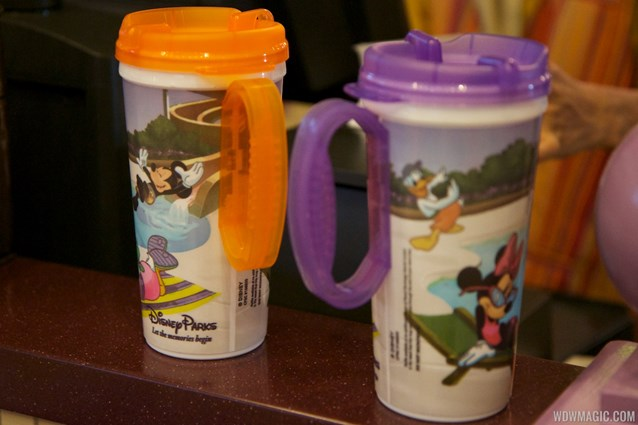 Rapid Fill Refillable Mug - Rapid Fill refillable mugs - purple and orange