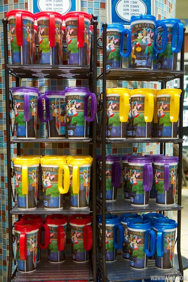 The new 2014 Rapid Fill refillable mug design