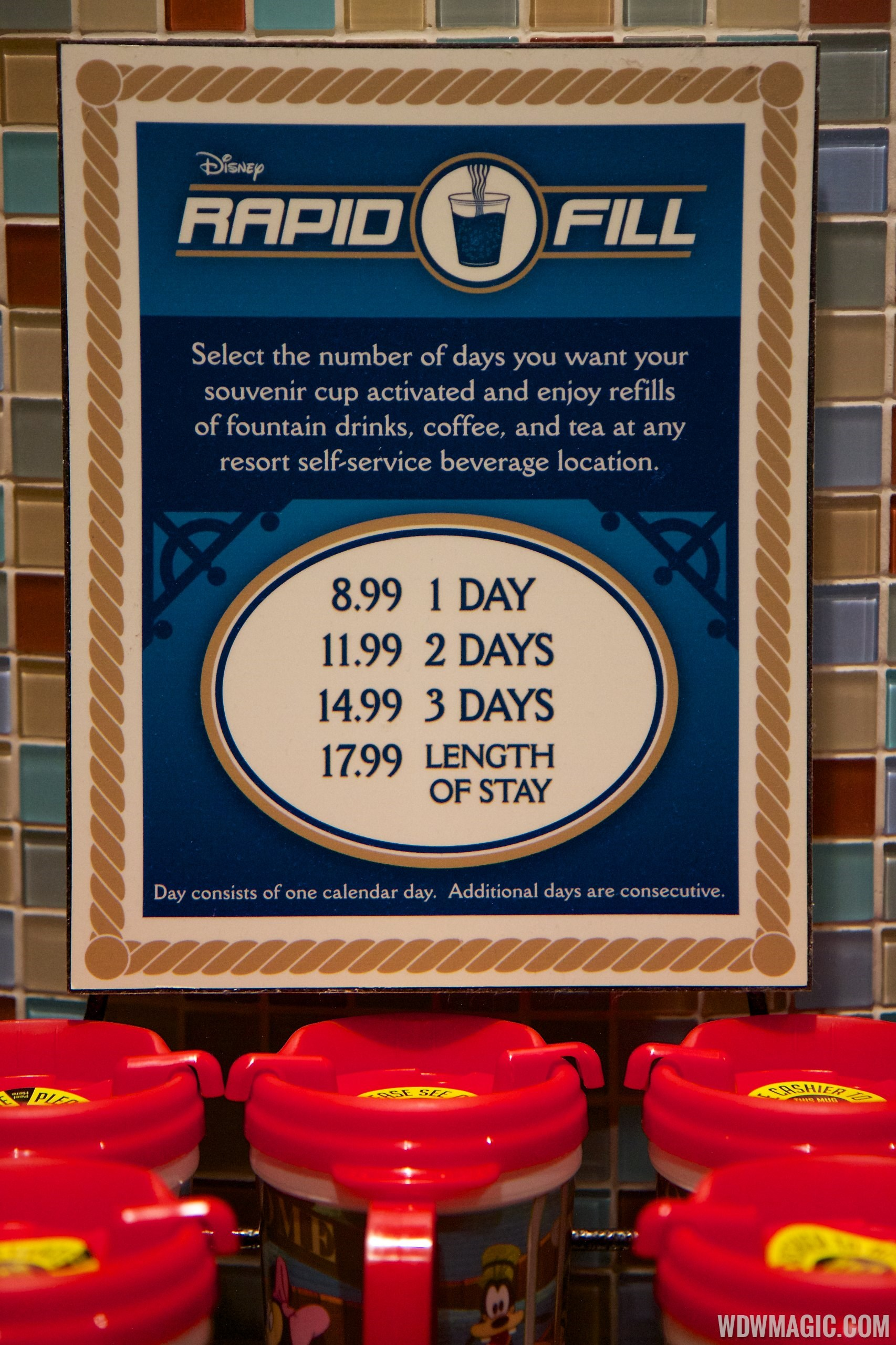 Rapid Fill Refillable Mug 2014