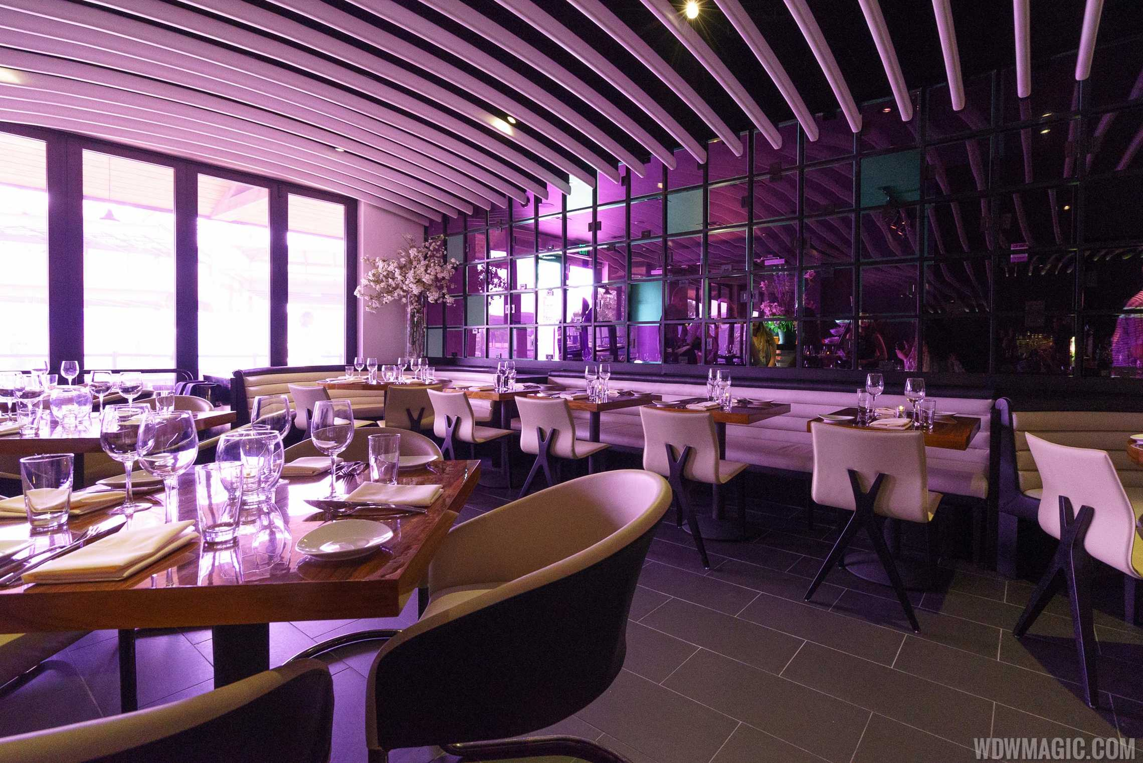 STK Orlando - Lower level dining room