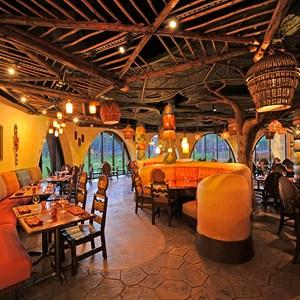 1 of 2: Sanaa - The Sanaa dining room. Copyright 2009 The Walt Disney Company.