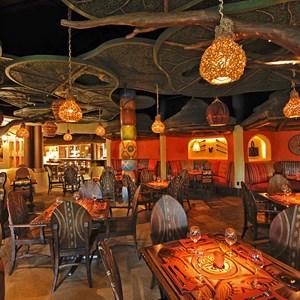 2 of 2: Sanaa - The Sanaa dining room. Copyright 2009 The Walt Disney Company.