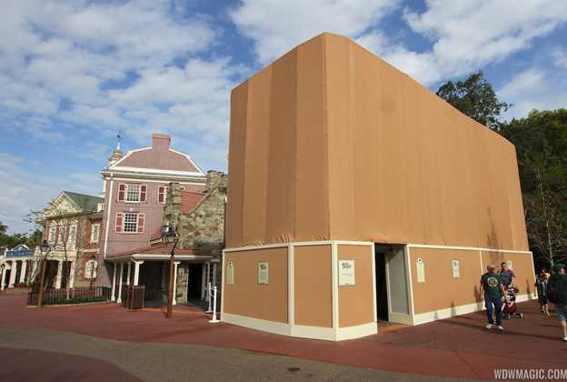 Sleepy Hollow Snacks exterior refurbishment