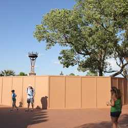 Construction walls up for Spice Road Table