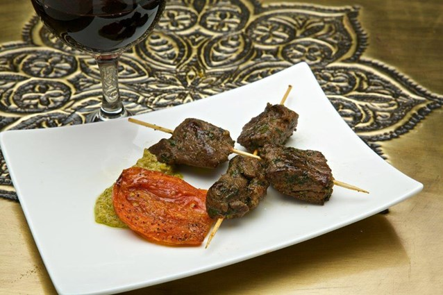 Spice Road Table - Spice Road Table food - Lamb Kebab