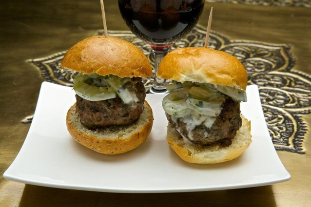 Spice Road Table - Spice Road Table food - Lamb Sliders