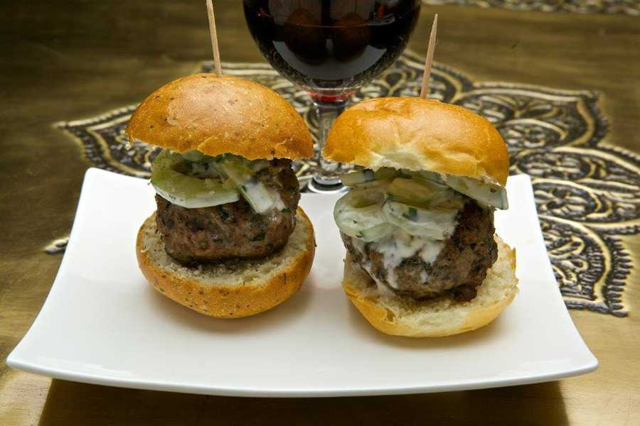 Spice Road Table food - Lamb Sliders