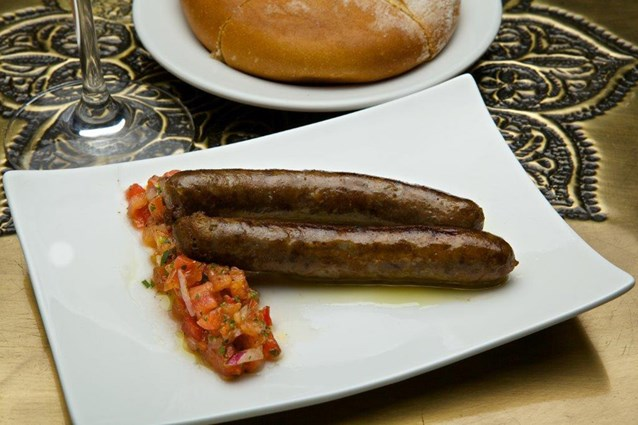 Spice Road Table - Spice Road Table food - Moroccan Mergues Sausage