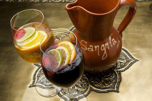Spice Road Table - Spice Road Table sangria