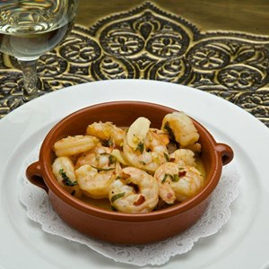 13 of 15: Spice Road Table - Spice Road Table food - Spicy Shrimp