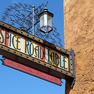 1 of 24: Spice Road Table - Spice Road Table signage