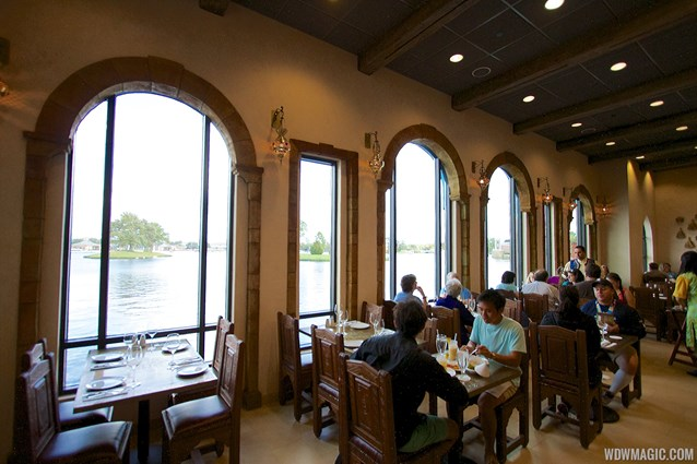 Spice Road Table - Spice Road Table - Indoor dining room overlooking World Showcase Lagoon